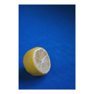 A Mediterranean Lemon Photo Print
