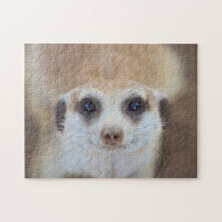 A Meerkat looking up at the camera Jigsaw Puzzle