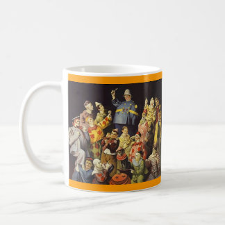 A MEETING OF CLOWNS Office Humor Circus Act 3 ring Basic White Mug