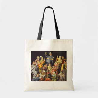 A MEETING OF CLOWNS Office Humour Circus Act 3 rin Tote Bag