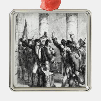 A Meeting of the Irish Volunteers Christmas Ornament