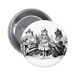 A Meeting with Alice 6 Cm Round Badge