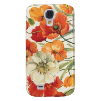A Melody of Poppies Galaxy S4 Case