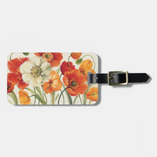 A Melody of Poppies Luggage Tag