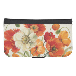 A Melody of Poppies Samsung S4 Wallet Case