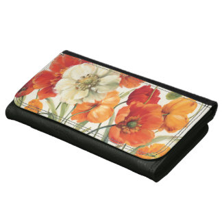 A Melody of Poppies Wallet