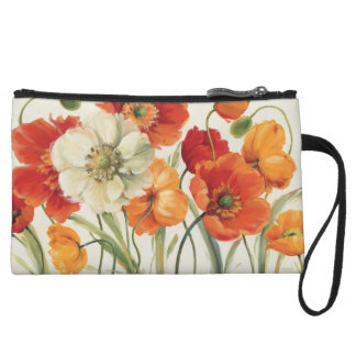 A Melody of Poppies Wristlet