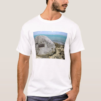A memorial to prisoners of war on Wake Island T-Shirt