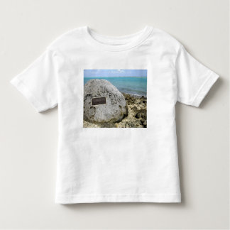 A memorial to prisoners of war on Wake Island Toddler T-Shirt
