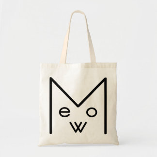 A MEOW Budget Tote Tote Bags