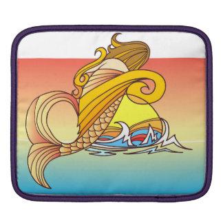 A Mermaid Child iPad Sleeve