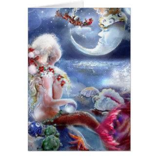 A Mermaid s Christmas Eve Card