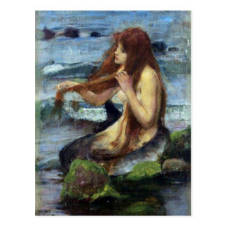 A Mermaid (study) Postcard