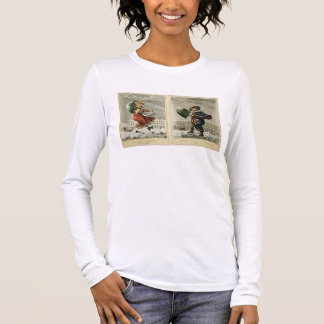 A Merry Christmas and a Happy New Year in London: Long Sleeve T-Shirt