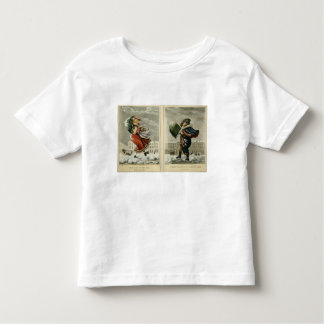 A Merry Christmas and a Happy New Year in London: Toddler T-Shirt