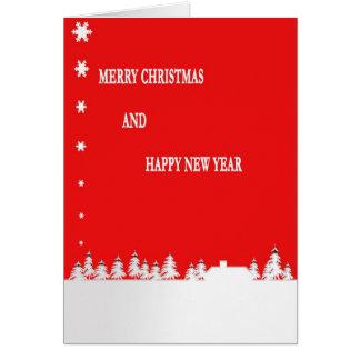 A Merry Christmas Card