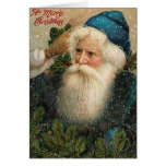 A Merry Christmas Old St. Nick Card