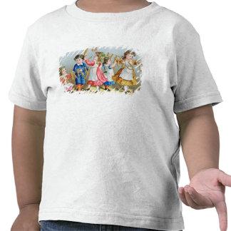 A Merry Christmas', Victorian postcard T Shirt