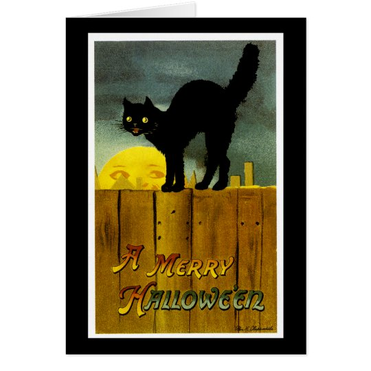 A Merry Halloween Card