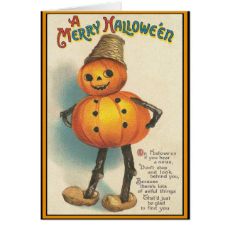 A MERRY HALLOWEEN GREETING CARDS