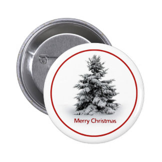 A Merry Little Christmas 6 Cm Round Badge
