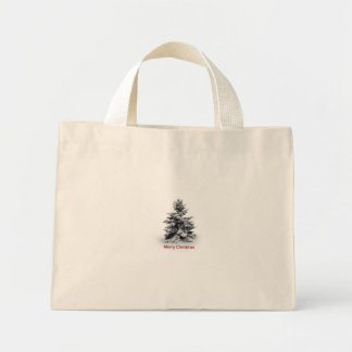 A Merry Little Christmas Tote Bags