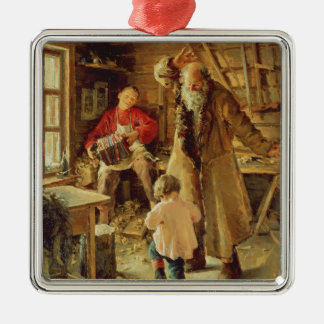 A Merry Moment, 1897 Christmas Ornament