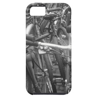 A mess of bikes iPhone 5 cover