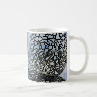 A Mess of Letters Basic White Mug
