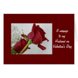 A message to my Husband- Valentine's Day Greeting Card