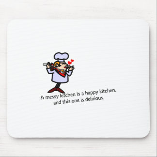 A Messy Kitchen Mouse Pad