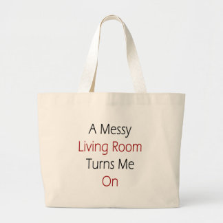A Messy Living Room Turns Me On Tote Bags