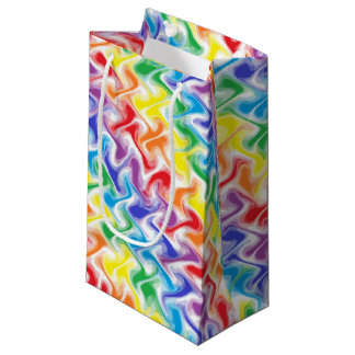A Messy Rainbow Gift Bag