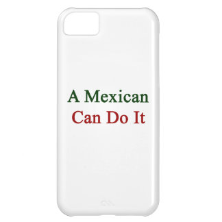 A Mexican Can Do It. iPhone 5C Cases