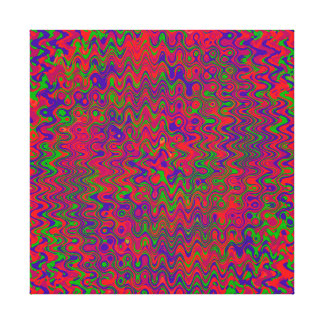 A MICROSECOND COLLISION BETWEEN UNIVERSES CANVAS PRINT