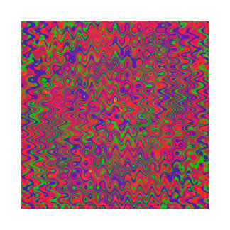 A MICROSECOND COLLISION BETWEEN UNIVERSES... CANVAS PRINT