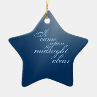 A Midnight Clear Christmas Christmas Ornament