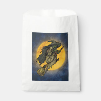 A Midnight Ride Halloween Favor Bags Favour Bags