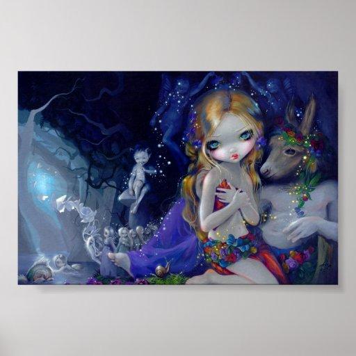 A Midsummer Night's Dream Art Print fairy Titania