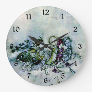 A Midsummer Night's Dream Fairies Large Clock
