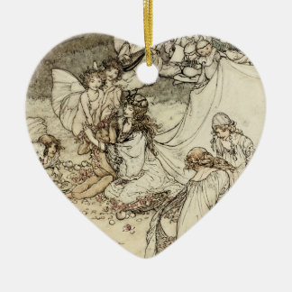 A Midsummer Night's Dream Fairy Heart Ornament