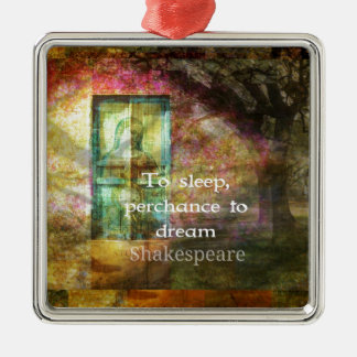 A Midsummer Night's Dream Quote By Shakespeare Christmas Ornament