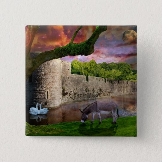 A midsummer's Night Dream 15 Cm Square Badge