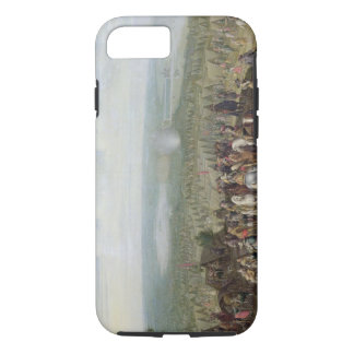 A Military Encampment with Militia on Horses, Troo iPhone 8/7 Case