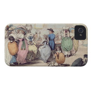 A Milliner's Shop, published in 1787 (hand coloure iPhone 4 Case