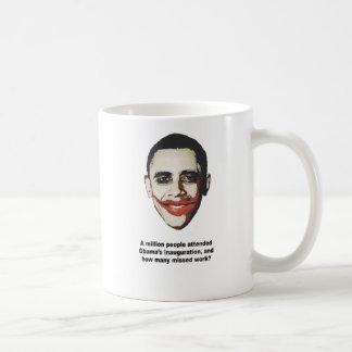 A million people attended Obama's inauguration Coffee Mug