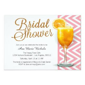A Mimosa Bridal Shower Brunch Card