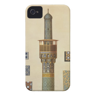 A Minaret and Ceramic Details from the Mosque of t iPhone 4 Cases