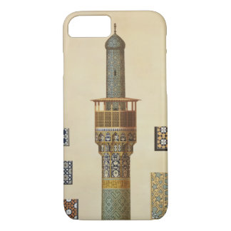 A Minaret and Ceramic Details from the Mosque of t iPhone 8/7 Case