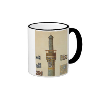 A Minaret and Ceramic Details from the Mosque of t Coffee Mugs